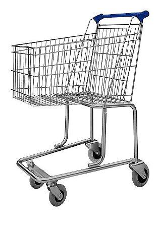 Carrinho de Compras 90 Litros Supermercado Mercado