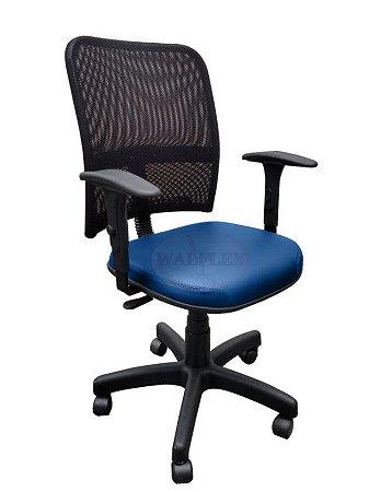 Cadeira Escritório Soul Diretor Tela Mesh Home Office