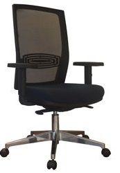 Cadeira Diretor Escritório Tela Mesh Ergonômica Braços Reguláveis Giratória Home Office