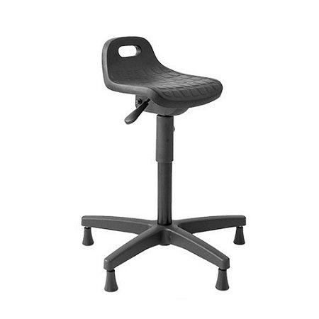 Cadeira Banco Industrial Semi Sentado Ergonômico