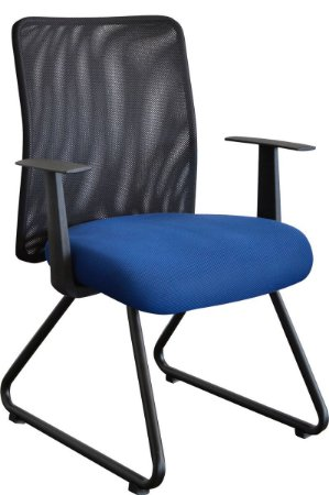 Cadeira para Escritório Tela STD Mesh Home Office Fixa Corporativa