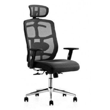 Cadeira para Escritório Presidente Giratória Home Office Braços Reguláveis Relax Apoio de Terno