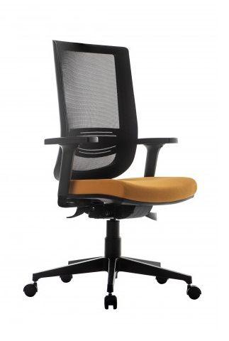 Cadeira Escritório Diretor Try Ergonômica Giratória Tela Mesh Apoio Lombar Home Office Corporativa