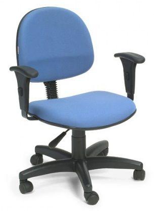 Cadeira Para Escritório Home Office Executiva Giratória Com Braços Regulaveis