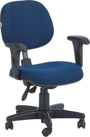Cadeira Para Escritório Executiva com Capa Giratória Ergonômica Braços Reguláveis