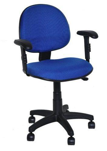 Cadeira Executiva Giratória Escritório Braços Reguláveis Com Lamina Home Office