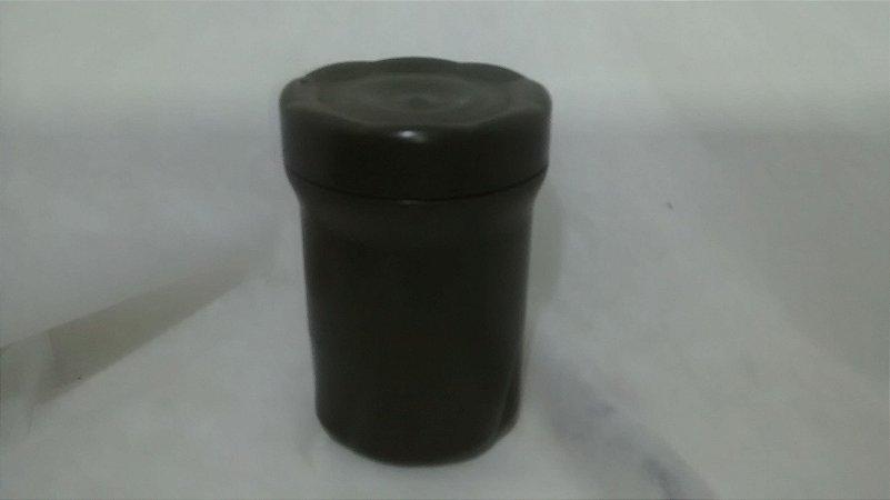 Pote em Polímero Médio Verde para kit de sobrevivência