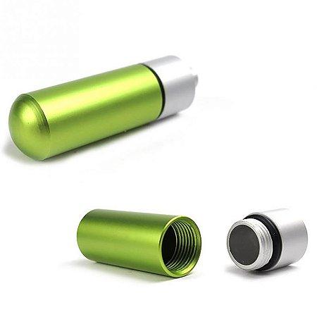 Capsula Estanque de Alumínio - Aprova dagua - Verde