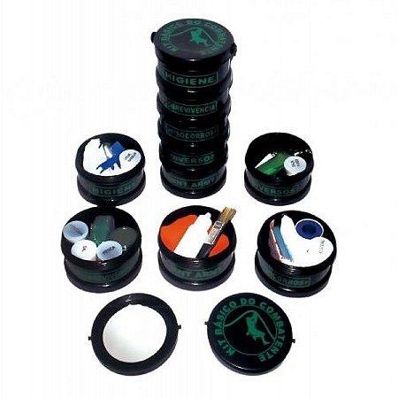 kit combatente 5 in 1 - kit torre - Potes Vasio para montar seu kit