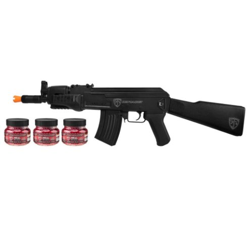 RIFLE DE AIRSOFT ELÉTRICO UMAREX RED JACKET mod. AKU 47 110v + 6.000 BBS
