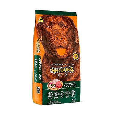 RAÇÃO SPECIAL DOG GOLD PARA CÃES ADULTOS