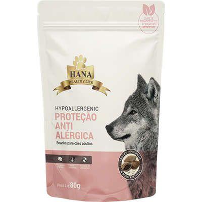 Snacks Hana Healthy Life Hypoallergenic para Cães Adultos - 80g