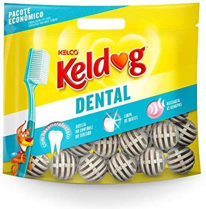 Osso Dental Keldog Tradicional Bola.