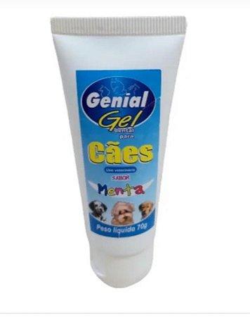 GENIAL GEL PASTA PARA CÃES - 70G