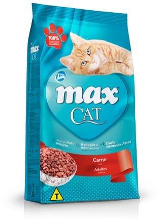 RAÇÃO MAX CAT SABOR CARNE PARA GATOS ADULTOS