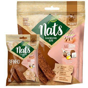 Bifinho Natural Nats NatDerm para Cães