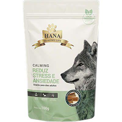 Snacks Hana Healthy Life Calming para Cães Adultos - 100g