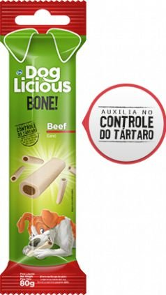 Petisco Total DogLicious Bone Beef - 80g