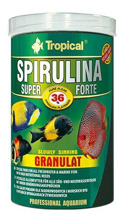 RAÇÃO TROPICAL SPIRULINA SUPER FORTE GRANULAT