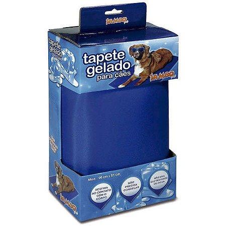 TAPETE GELADO PARA CÃES JAMBO - EXTRA GRANDE 96X81CM