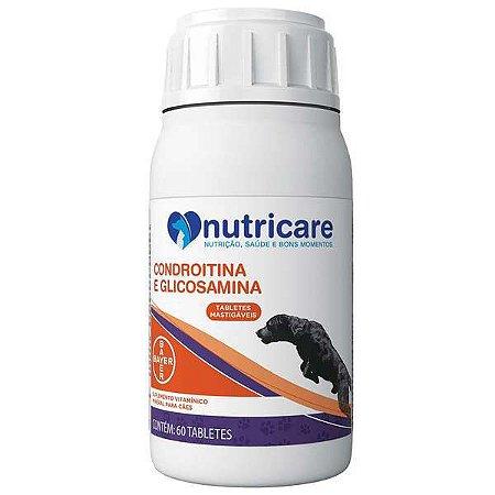 NUTRICARE CONDROITINA E GLICOSAMINA 60 TABLETES