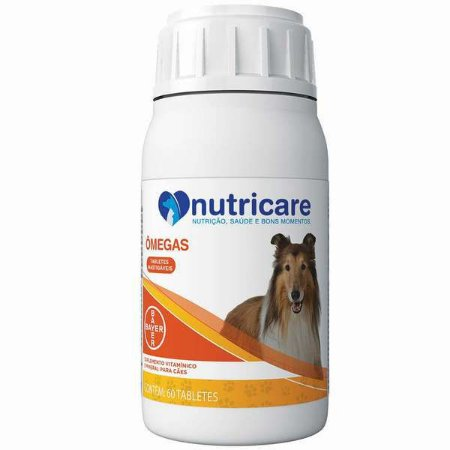 NUTRICARE OMEGAS 60 TABLETES