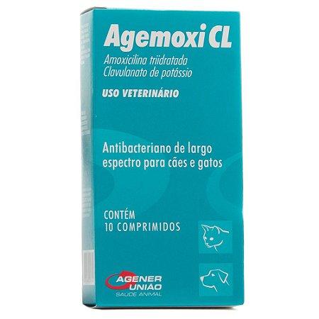 ANTIBIÓTICO - AGEMOXI CL 250MG - 10 COMPRIMIDOS