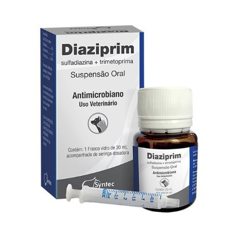 DIAZIPRIM SUSPENSÃO ORAL 20ML