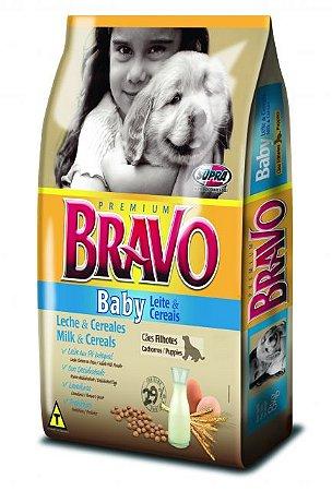RAÇÃO PREMIUM BRAVO BABY 15 KG
