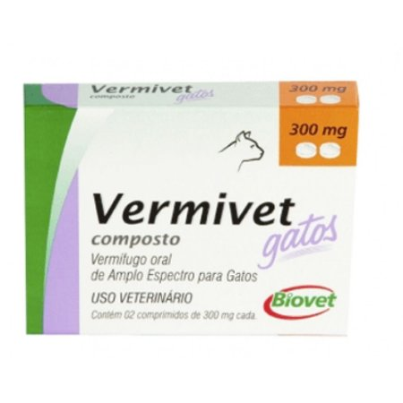 BIOVET VERMIVET GATOS 300MG