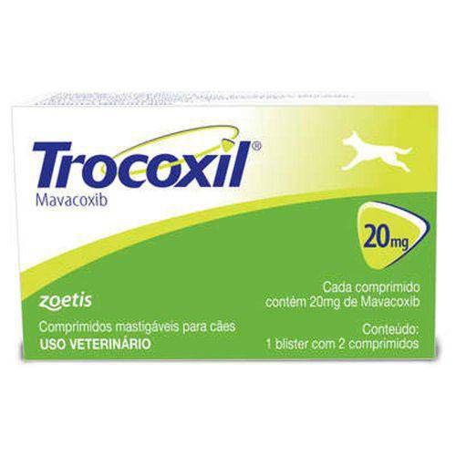 ZOETIS TROCOXIL 20MG - 2 COMPRIMIDOS