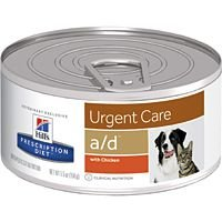 HILLS PRESCRIPTION DIET URGENT CARE A/D 156G