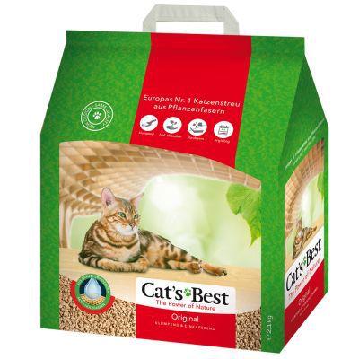 AREIA SANITÁRIA CATS BEST - OKO PLUS - 4,3KG