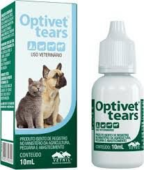 COLÍRIO VETNIL OPTIVET TEARS - 10ML