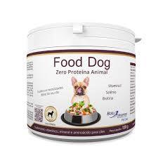 SUPLEMENTO VITAMÍNICO ZERO PROTEÍNA ANIMAL  - FOOD DOG 100G