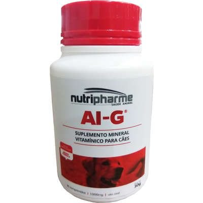 NUTRIPHARME AI-G SUPLEMENTO VITAMÍNICO COM 30 COMPRIMIDOS