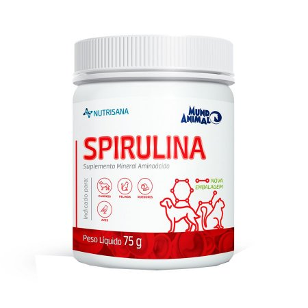 NUTRISANA SPIRULINA SUPLEMENTO ALIMENTAR - 75G
