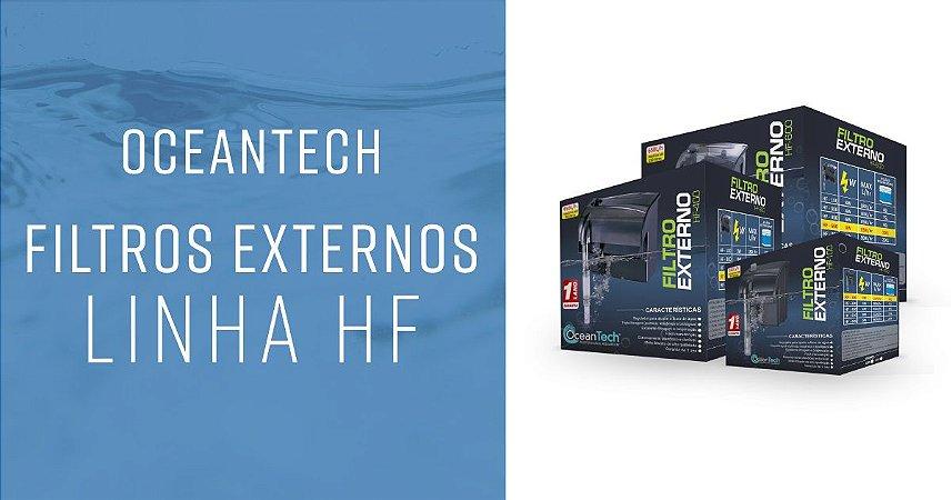 OCEANTECH FILTRO EXTERNO HANG ON HF-600 650L/H 127V PARA AQUÁRIOS DE ATÉ 150L