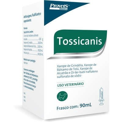 PROVETS TOSSICANIS XAROPE PARA CÃES - 90ML