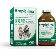 VETNIL AMPICILINA 50G - ANTIBIÓTICO BACTERICIDA