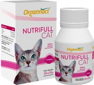 ORGANNACT NUTRIFULL CAT SUPLEMENTO ALIMENTAR - 30ML