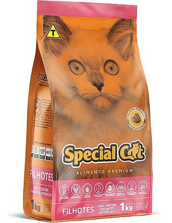 RAÇÃO SPECIAL CAT PARA GATOS FILHOTES