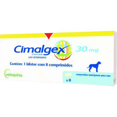 CIMALGEX 30MG COM 8 COMPRIMIDOS