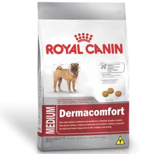RAÇÃO ROYAL CANIN MEDIUM DERMACOMFORT