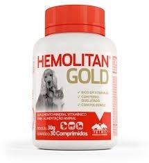 SUPLEMENTO - HEMOLITAN GOLD 30G 30 COMPRIMIDOS