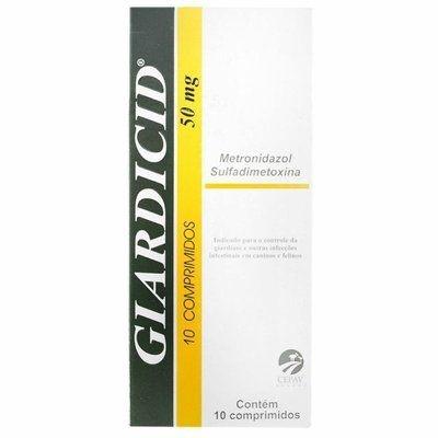 GIARDICID 50MG 10COMPRIMIDOS