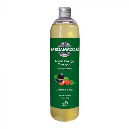 PET SOCIETY SHAMPOO MEGAMAZON GUARANÁ E AÇAÍ 300ML