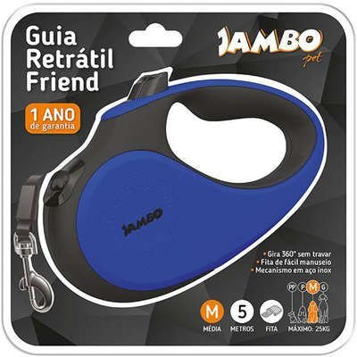 JAMBO GUIA RETRÁTIL FRIEND TAMANHO M