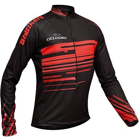 CC02 - Camisa Clássica ML - Ciclo Giro
