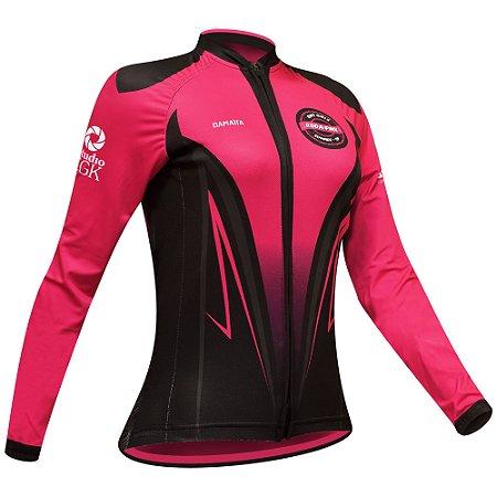 CC05 - Camisa Slim ML - Roda Pink